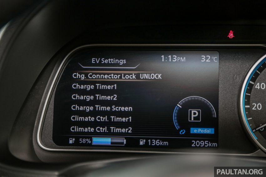 新车试驾: 第二代 Nissan Leaf, 专为小众电动车市场而生 Image #109347