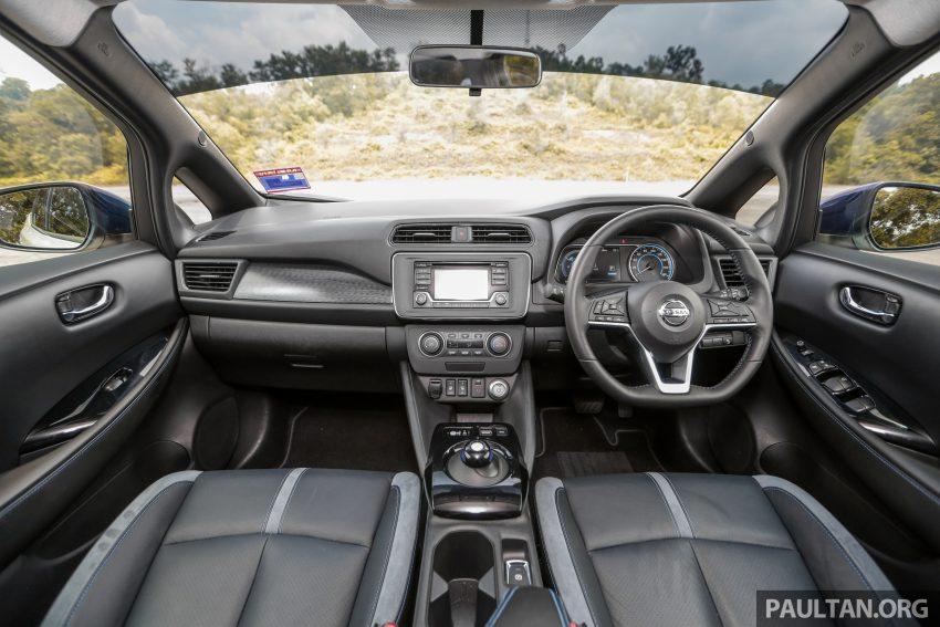 新车试驾: 第二代 Nissan Leaf, 专为小众电动车市场而生 Image #109333