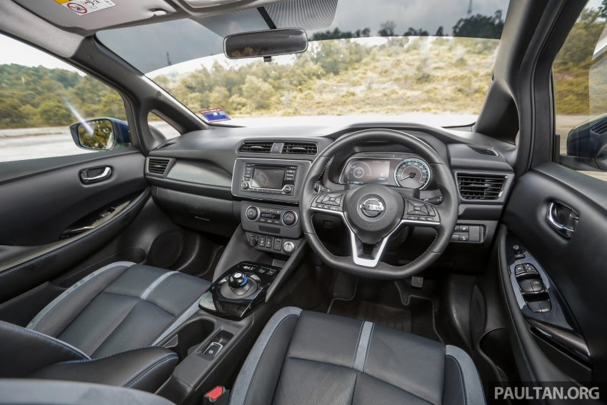 新车试驾: 第二代 Nissan Leaf, 专为小众电动车市场而生 Image #109362
