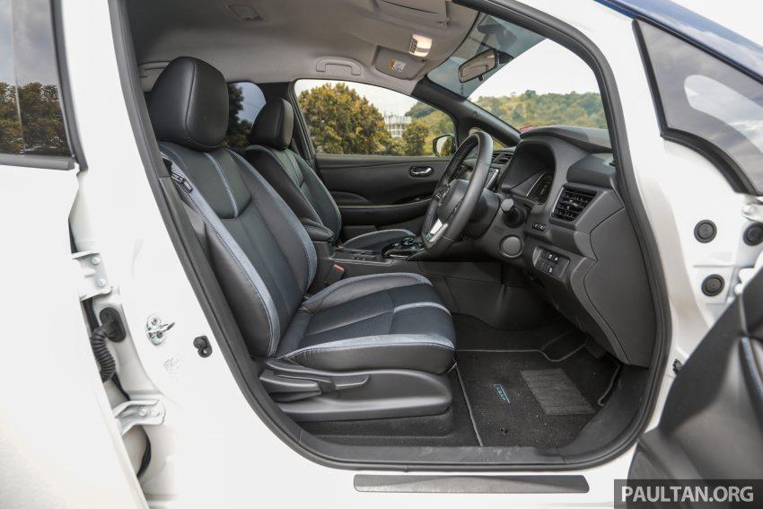 新车试驾: 第二代 Nissan Leaf, 专为小众电动车市场而生 Image #109367