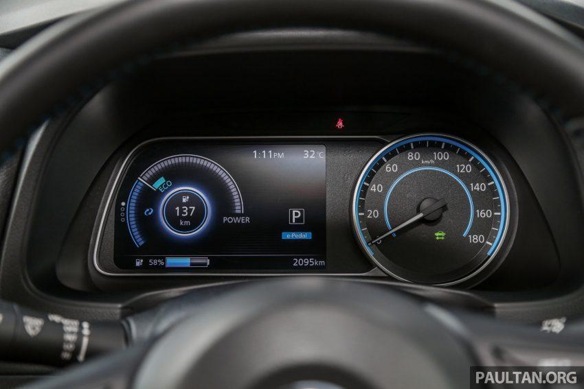 新车试驾: 第二代 Nissan Leaf, 专为小众电动车市场而生 Image #109335