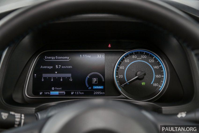 新车试驾: 第二代 Nissan Leaf, 专为小众电动车市场而生 Image #109339