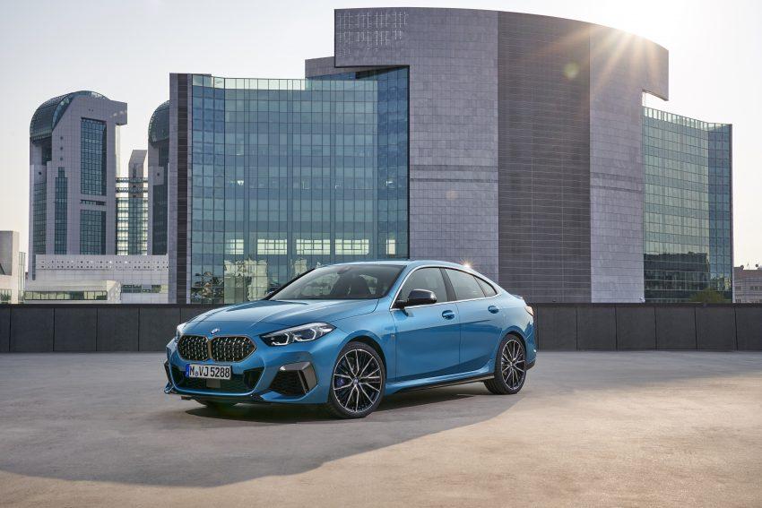 CLA对手来了! BMW 2 Series Gran Coupe 四门跑房面世 Image #108283
