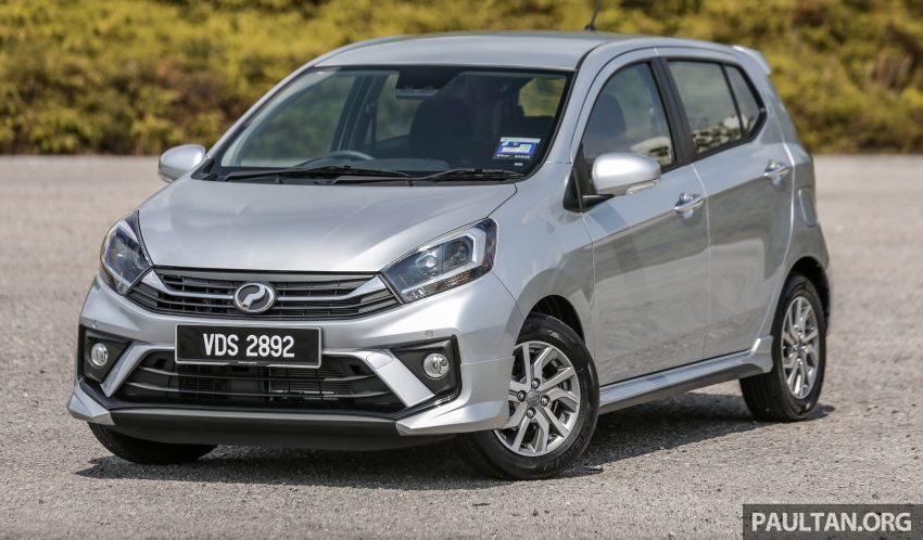 新车实拍对比:2019 Perodua Axia 1.0 AV 与 1.0 Style Image #107662