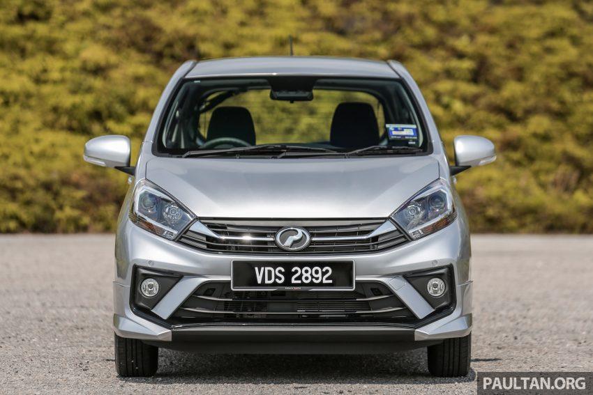 新车实拍对比:2019 Perodua Axia 1.0 AV 与 1.0 Style Image #107671