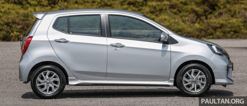 新车实拍对比:2019 Perodua Axia 1.0 AV 与 1.0 Style Image #107674