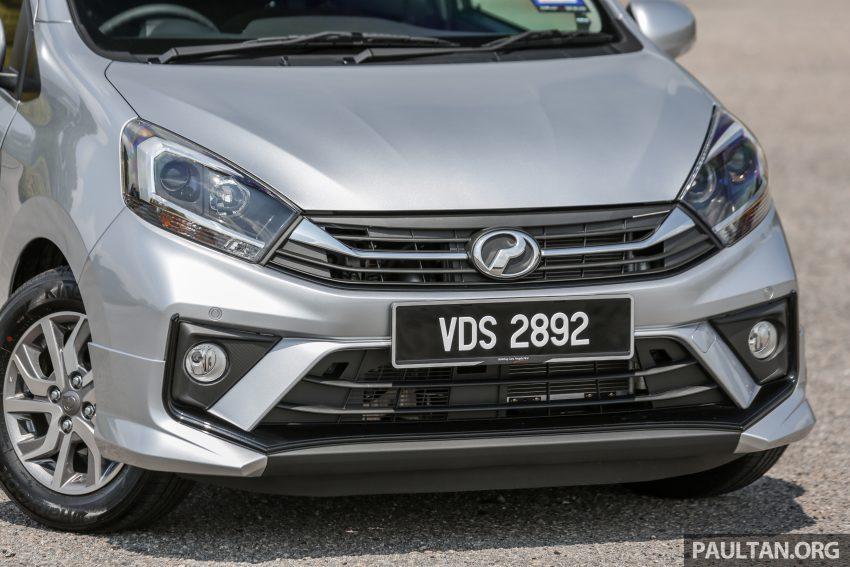 新车实拍对比:2019 Perodua Axia 1.0 AV 与 1.0 Style Image #107676