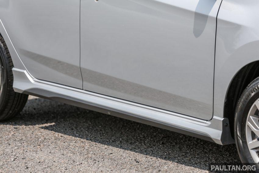 新车实拍对比:2019 Perodua Axia 1.0 AV 与 1.0 Style Image #107686