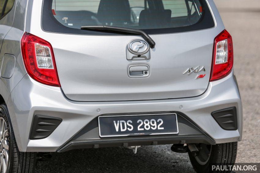 新车实拍对比:2019 Perodua Axia 1.0 AV 与 1.0 Style Image #107688
