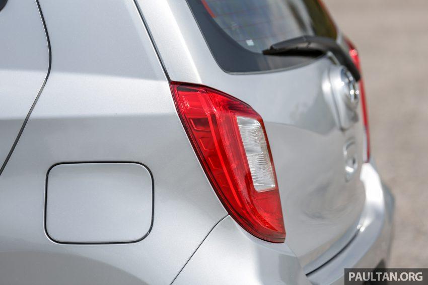 新车实拍对比:2019 Perodua Axia 1.0 AV 与 1.0 Style Image #107690