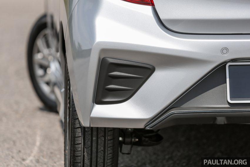 新车实拍对比:2019 Perodua Axia 1.0 AV 与 1.0 Style Image #107691