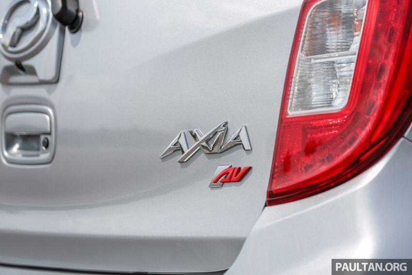新车实拍对比:2019 Perodua Axia 1.0 AV 与 1.0 Style Image #107695