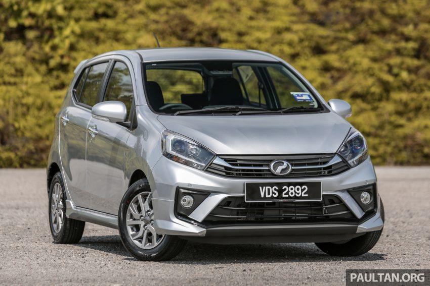 新车实拍对比:2019 Perodua Axia 1.0 AV 与 1.0 Style Image #107665
