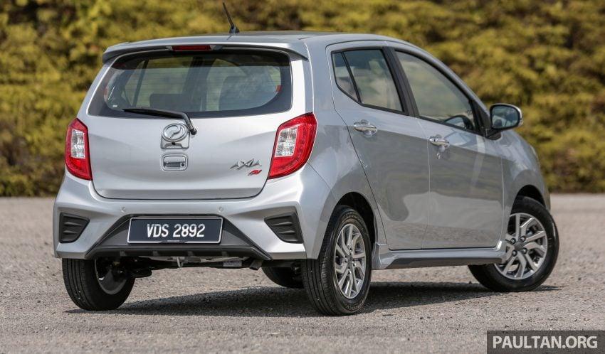 新车实拍对比:2019 Perodua Axia 1.0 AV 与 1.0 Style Image #107667