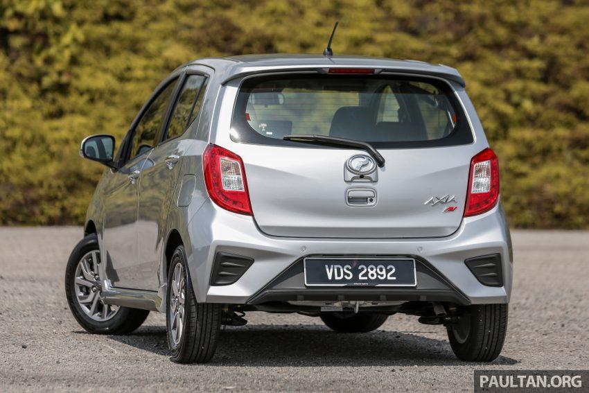 新车实拍对比:2019 Perodua Axia 1.0 AV 与 1.0 Style Image #107669