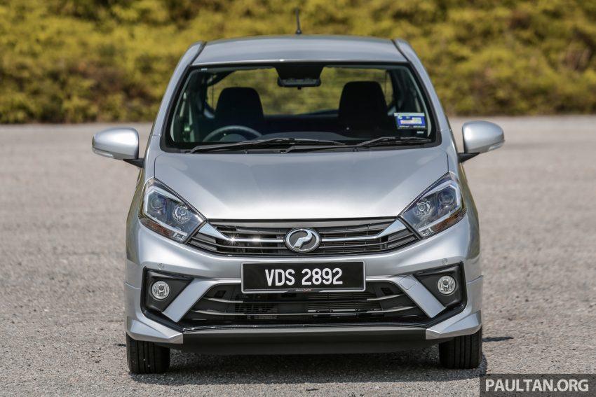 新车实拍对比:2019 Perodua Axia 1.0 AV 与 1.0 Style Image #107670