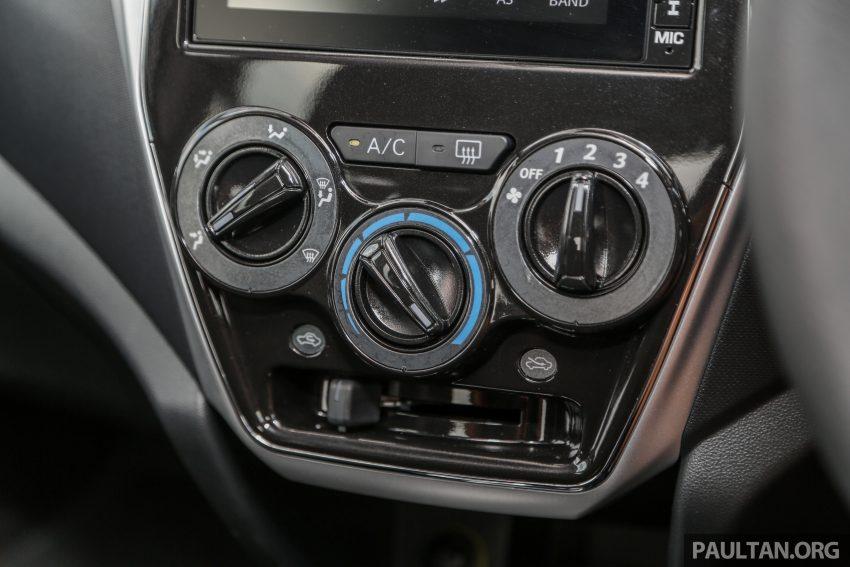新车实拍对比:2019 Perodua Axia 1.0 AV 与 1.0 Style Image #107707