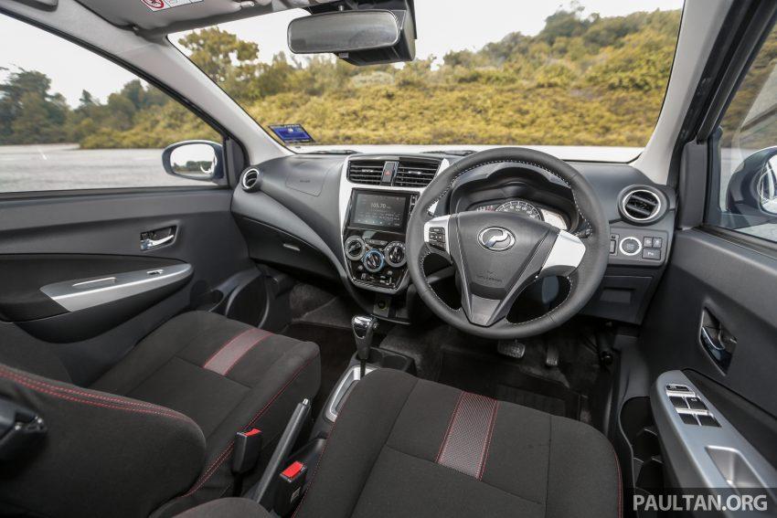 新车实拍对比:2019 Perodua Axia 1.0 AV 与 1.0 Style Image #107713