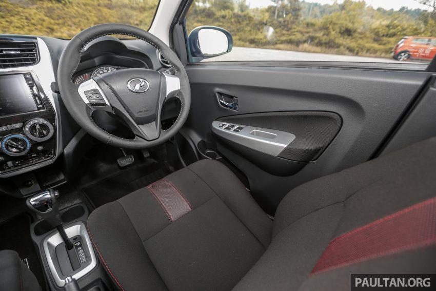 新车实拍对比:2019 Perodua Axia 1.0 AV 与 1.0 Style Image #107714