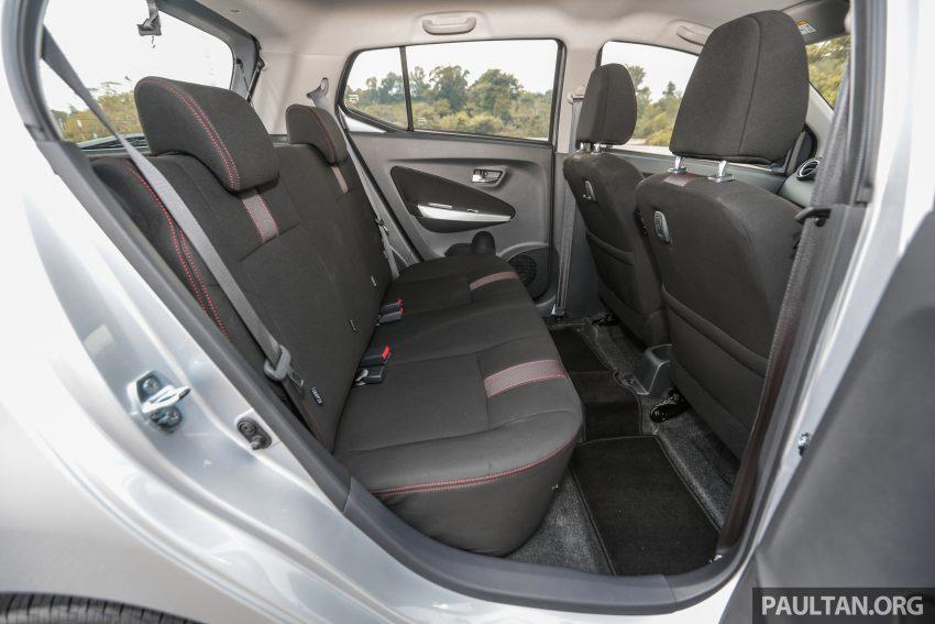 新车实拍对比:2019 Perodua Axia 1.0 AV 与 1.0 Style Image #107722