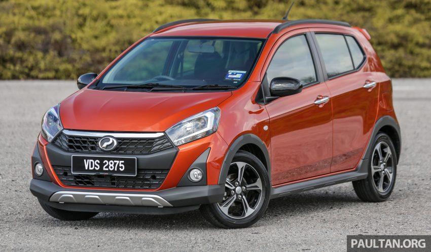 新车实拍对比:2019 Perodua Axia 1.0 AV 与 1.0 Style Image #107732