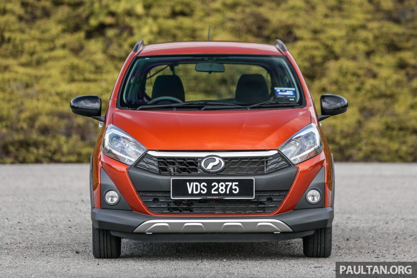 新车实拍对比:2019 Perodua Axia 1.0 AV 与 1.0 Style Image #107741