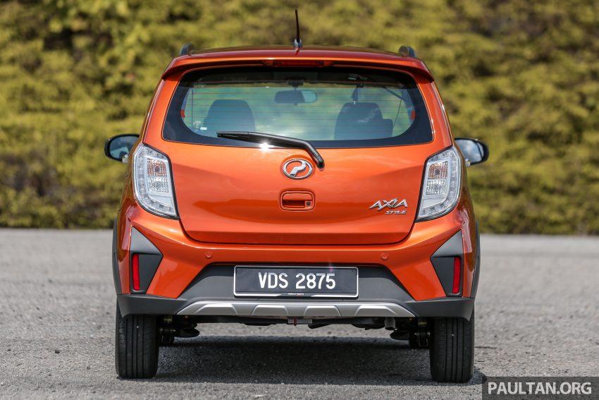 新车实拍对比:2019 Perodua Axia 1.0 AV 与 1.0 Style Image #107743