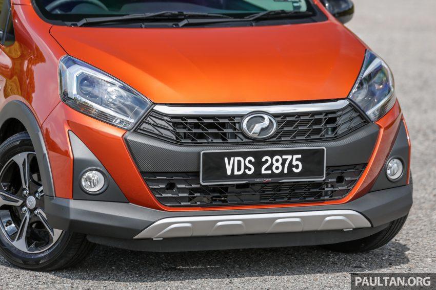 新车实拍对比:2019 Perodua Axia 1.0 AV 与 1.0 Style Image #107746