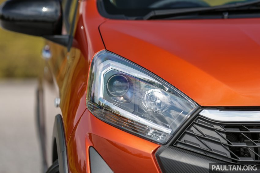 新车实拍对比:2019 Perodua Axia 1.0 AV 与 1.0 Style Image #107747