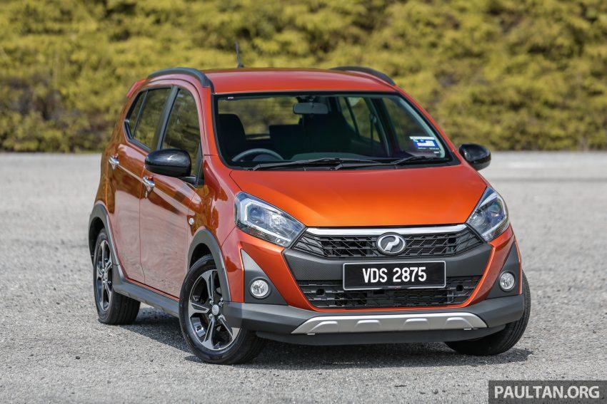 新车实拍对比:2019 Perodua Axia 1.0 AV 与 1.0 Style Image #107734