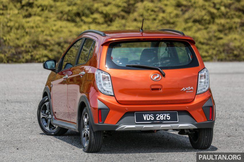 新车实拍对比:2019 Perodua Axia 1.0 AV 与 1.0 Style Image #107738