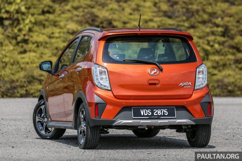 新车实拍对比:2019 Perodua Axia 1.0 AV 与 1.0 Style Image #107739