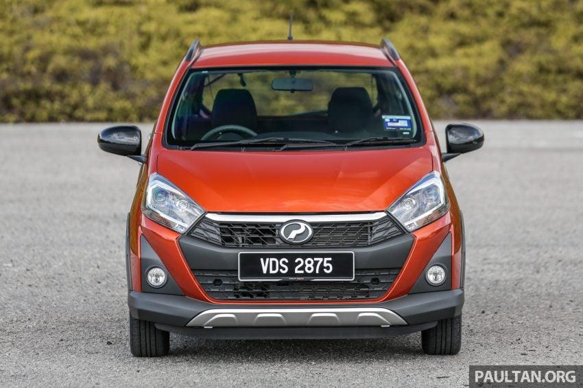 新车实拍对比:2019 Perodua Axia 1.0 AV 与 1.0 Style Image #107740