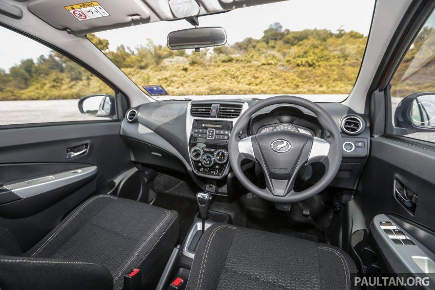 新车实拍对比:2019 Perodua Axia 1.0 AV 与 1.0 Style Image #107782