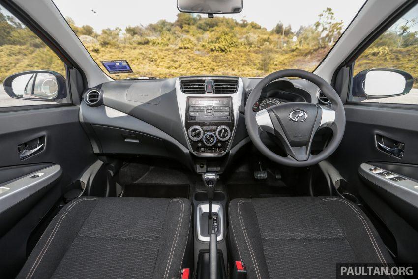 新车实拍对比:2019 Perodua Axia 1.0 AV 与 1.0 Style Image #107771