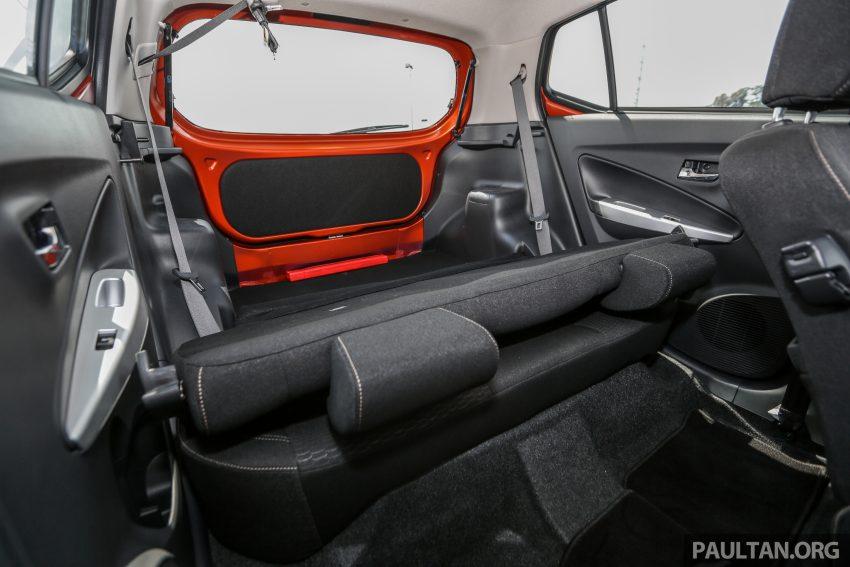 新车实拍对比:2019 Perodua Axia 1.0 AV 与 1.0 Style Image #107794
