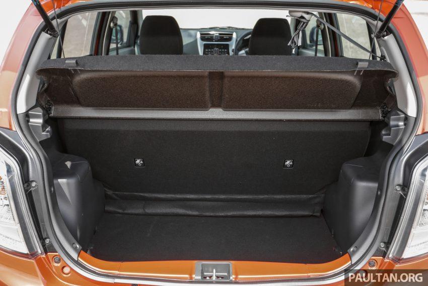 新车实拍对比:2019 Perodua Axia 1.0 AV 与 1.0 Style Image #107799