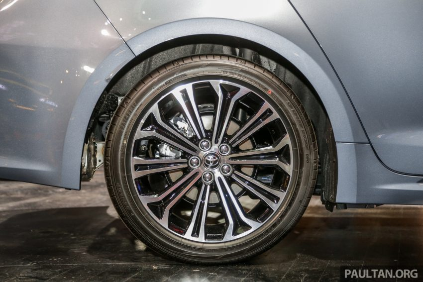 全新 Toyota Corolla 本地上市,两个等级,售RM129k起 Image #107830