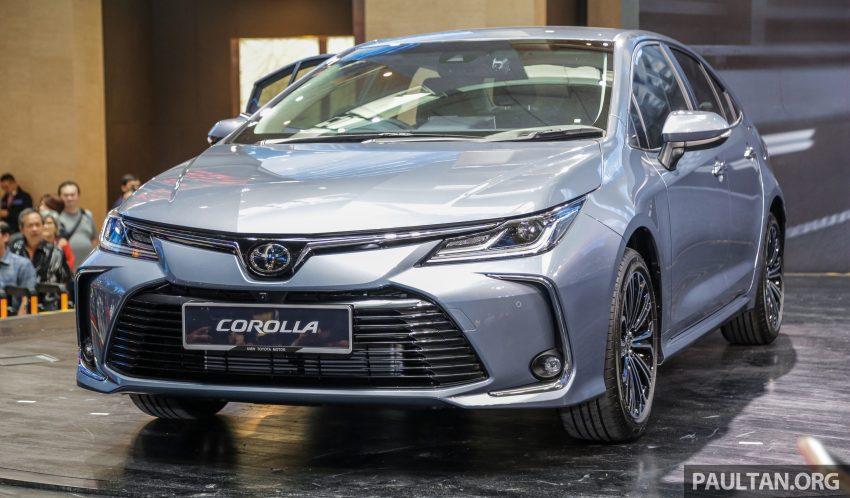 全新 Toyota Corolla 本地上市,两个等级,售RM129k起 Image #107814