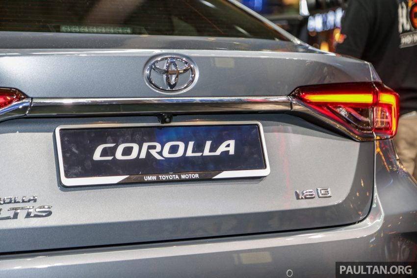 全新 Toyota Corolla 本地上市,两个等级,售RM129k起 Image #107834
