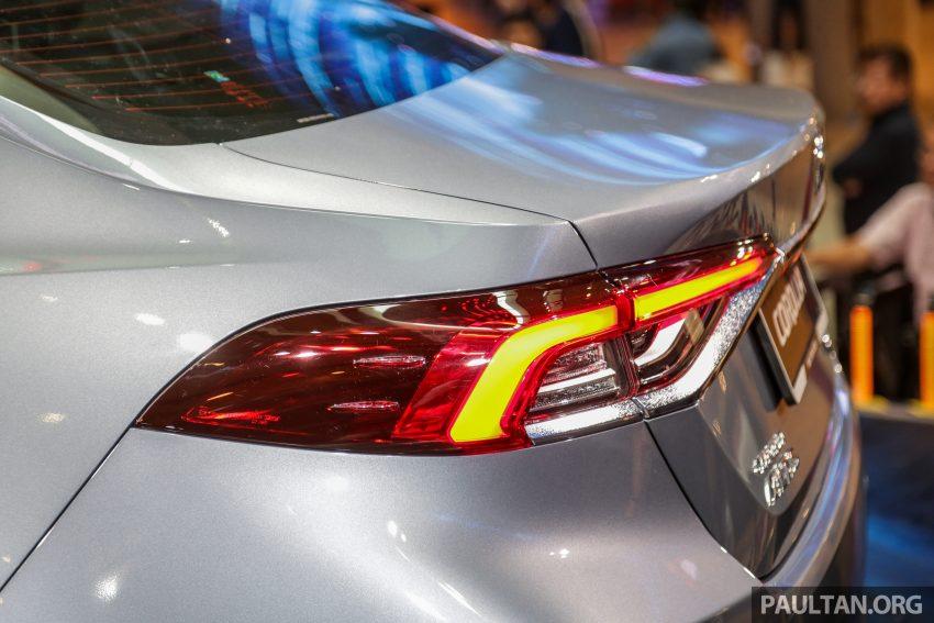 全新 Toyota Corolla 本地上市,两个等级,售RM129k起 Image #107836