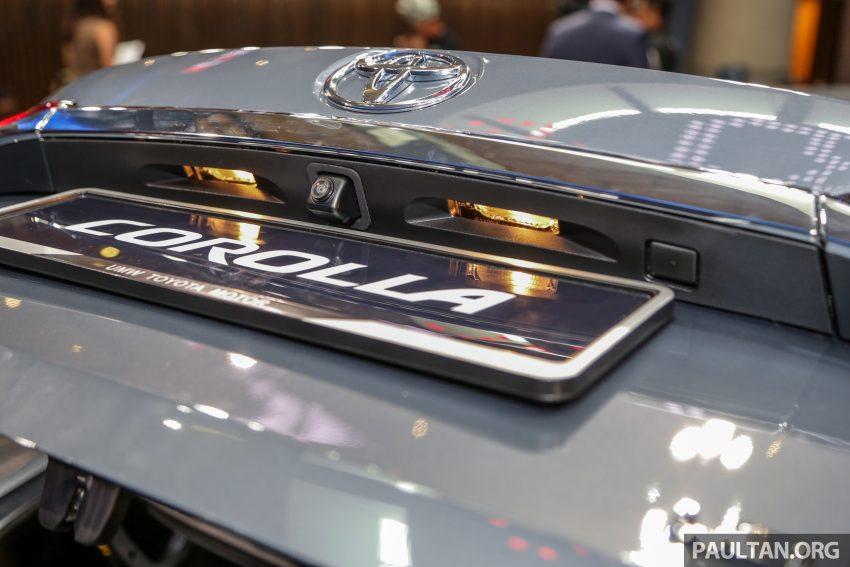 全新 Toyota Corolla 本地上市,两个等级,售RM129k起 Image #107837