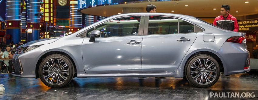 全新 Toyota Corolla 本地上市,两个等级,售RM129k起 Image #107818