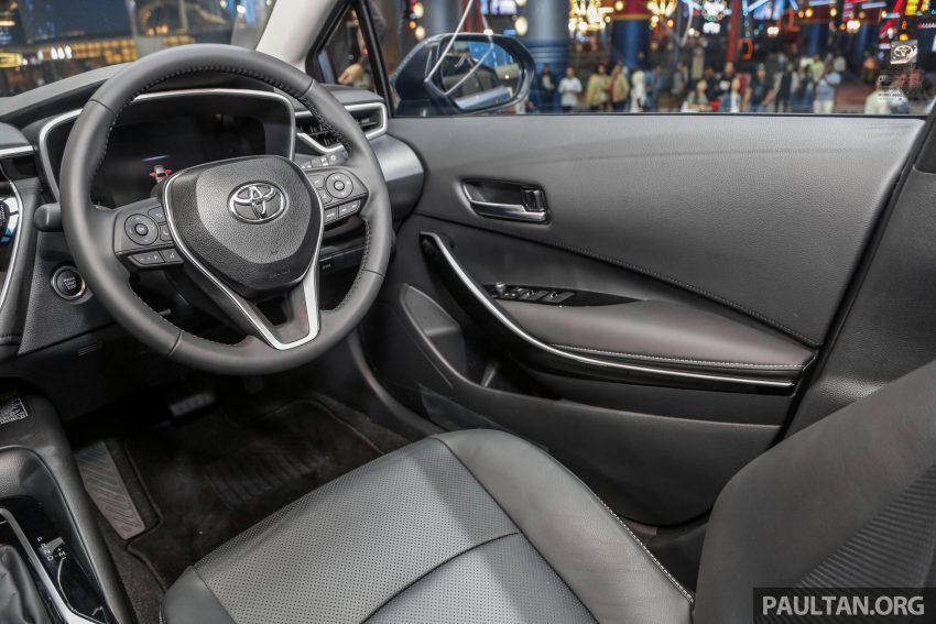 全新 Toyota Corolla 本地上市,两个等级,售RM129k起 Image #107856