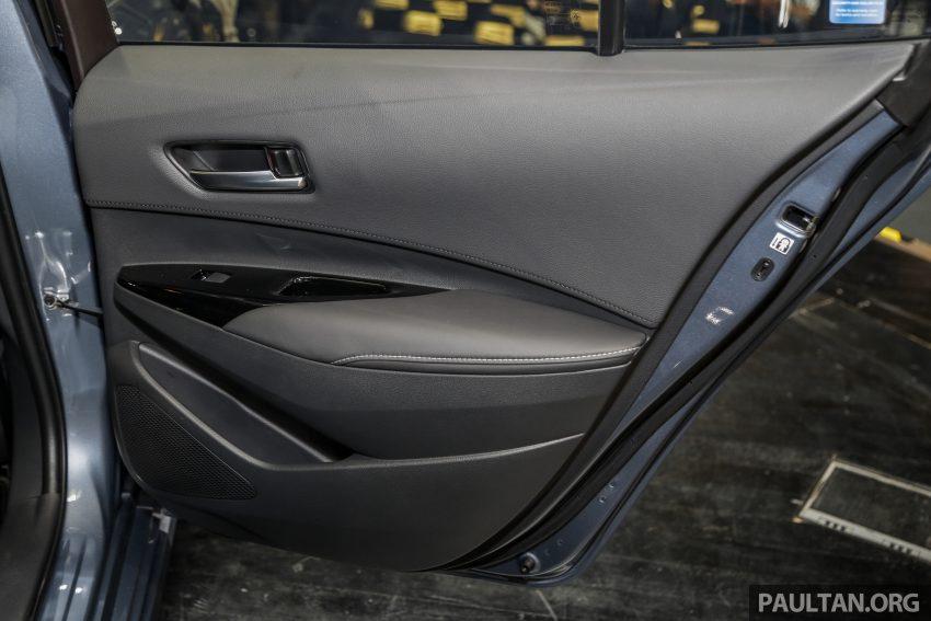 全新 Toyota Corolla 本地上市,两个等级,售RM129k起 Image #107864