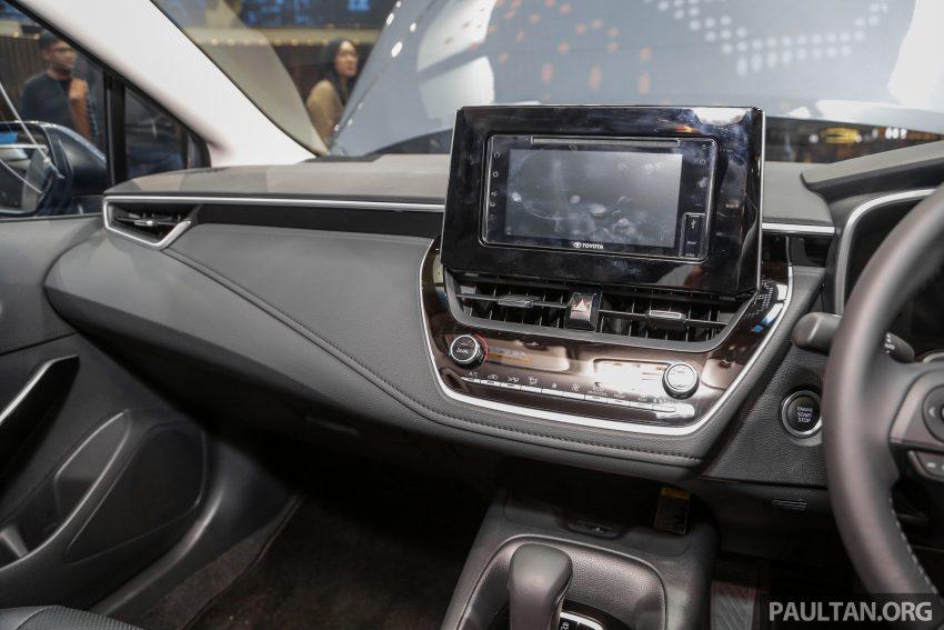 全新 Toyota Corolla 本地上市,两个等级,售RM129k起 Image #107844