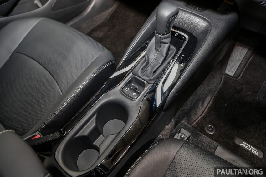 全新 Toyota Corolla 本地上市,两个等级,售RM129k起 Image #107847