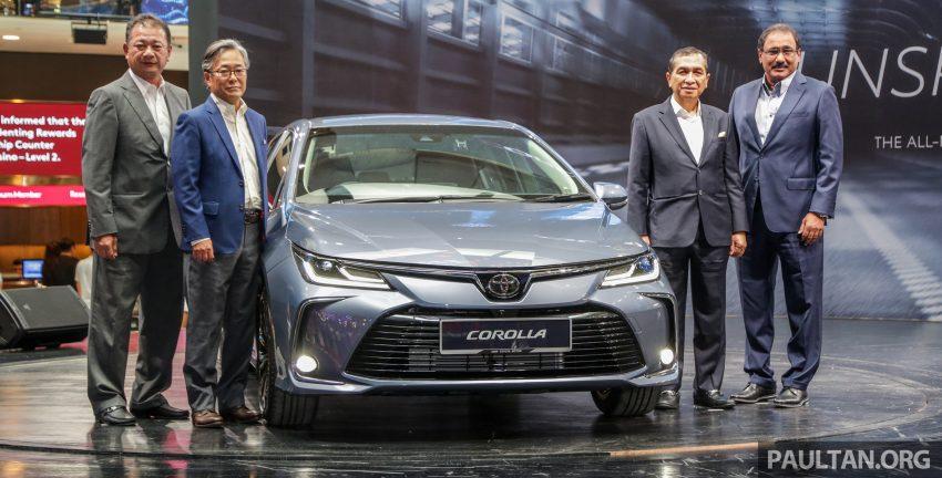 全新 Toyota Corolla 本地上市,两个等级,售RM129k起 Image #107806
