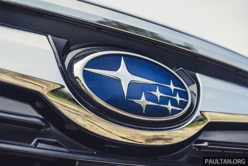 试驾: Subaru Forester 2.0i-S Eyesight , 只是外型欠一点 Image #112017