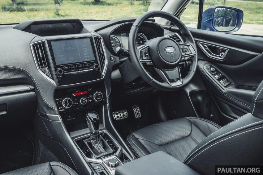 试驾: Subaru Forester 2.0i-S Eyesight , 只是外型欠一点 Image #112034